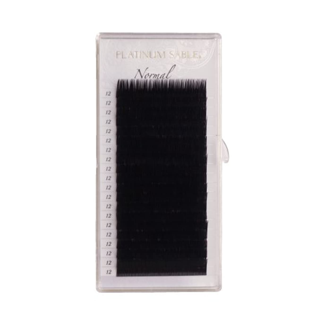 説明的信者乱雑なプラチナセーブル 0.12mm CCカール 12mm