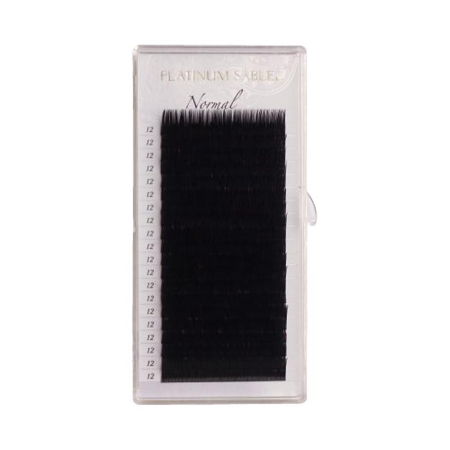 聴覚障害者博物館誘導プラチナセーブル 0.12mm Dカール 7,8,9mm