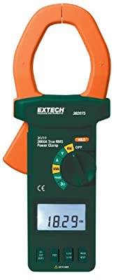 Extech Instruments Power Clamp Meter with Nist