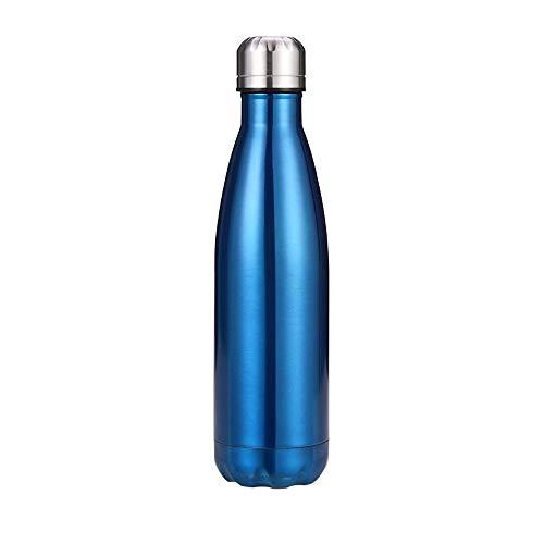 Chilly's Bottles, botella de agua de acero inoxidable de doble capa a prueba de fugas, botella de coque reutilizable, botella de refrigeración deportiva, para mujeres y hombres, 11,500 ml