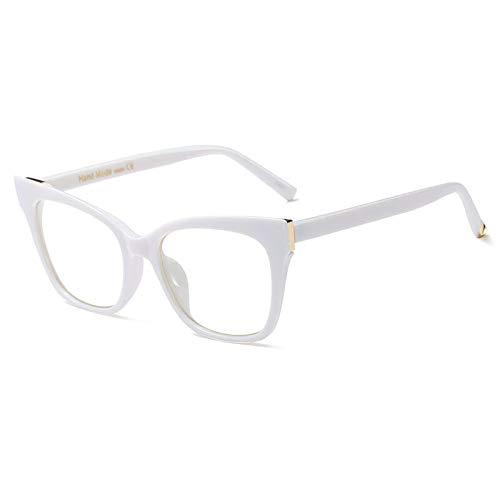 SNXIHES Sonnenbrillen Neue Cat Eye Brillengestelle Für Frauen Brillen Klare Linse Optische Gläser Rahmen 2