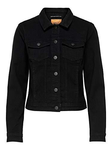 ONLY Damen ONLWESTA LS Jacket BB PIM004 Jacke, Schwarz, 42