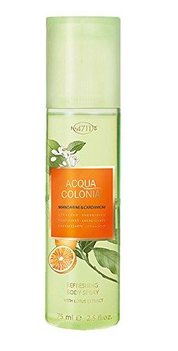 4711 Acqua Colonia Mandarine and Cardamom unisex, Bodyspray, Vaporisateur/Spray 75 ml, 1er Pack (1 x 0.272 kg)