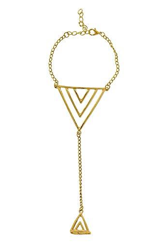 Ringarmband kus goudkleurig geschenkidee