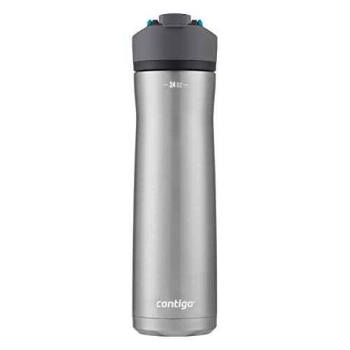 Contigo AUTOSEAL Water Bottle, 24oz, Juniper Lid
