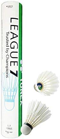 YONEX League 7 Badminton Feather Shuttlecock L 7 1 Doz product image