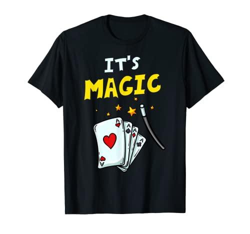 Caja de tarjetas Magic Trick Gift Magician Camiseta