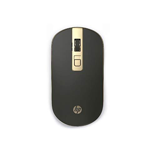 Mouse Sem Fio HP S4000 Preto - Sensor Óptico Silencioso Ambidestro Resoluções até 1600 DPI - 4NE22PA
