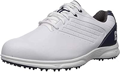 FootJoy Men's FJ ARC SL-Previous Season Style Golf Shoes White 9.5 M Navy, US