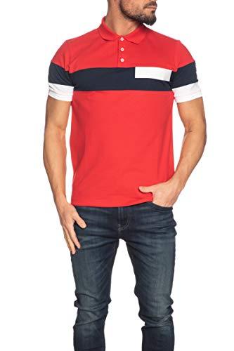 COLMAR Herren Kurzarm-Poloshirt Originals rot, Rot XL