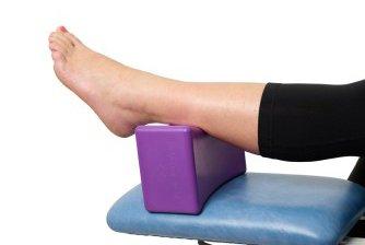 BodyBlock die hygienische Lagerungs- und Pflegehilfe - Mobile Fußstütze - Stützkissen