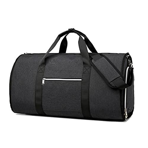 [スーツケースカンパニー]4WAY GPTガーメントバッグ 靴も入る ボストンバッグ ショルダー 手提げ 肩掛け スーツ キャリーオンバッグ 大容量 ブラック
