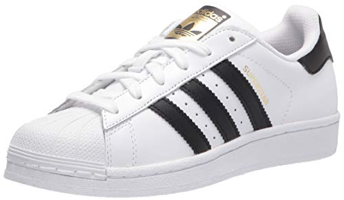 Price comparison product image adidas Originals Kids' Superstars Running Shoe,  White / Black,  4 M US