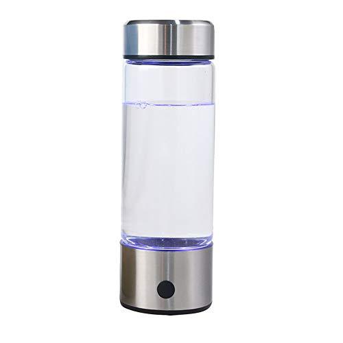 420ML Große Kapazität Batterie Gesunde Wasserfilter Filter, Tragbare Wasserstoff Wasser Ionisator Flasche Maker Generator, Metabolismus Booster
