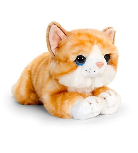 Oferta de Keel Toys 32cm Signature Cuddle Kitten - Ginger
