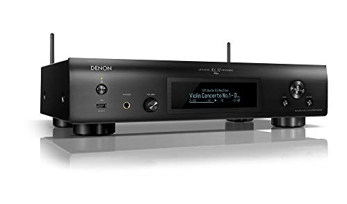 DENON Red Stereo Receiver DNP-800NE x Negro AirPlay, Bluetooth®, High-Resolution Audio, USB,