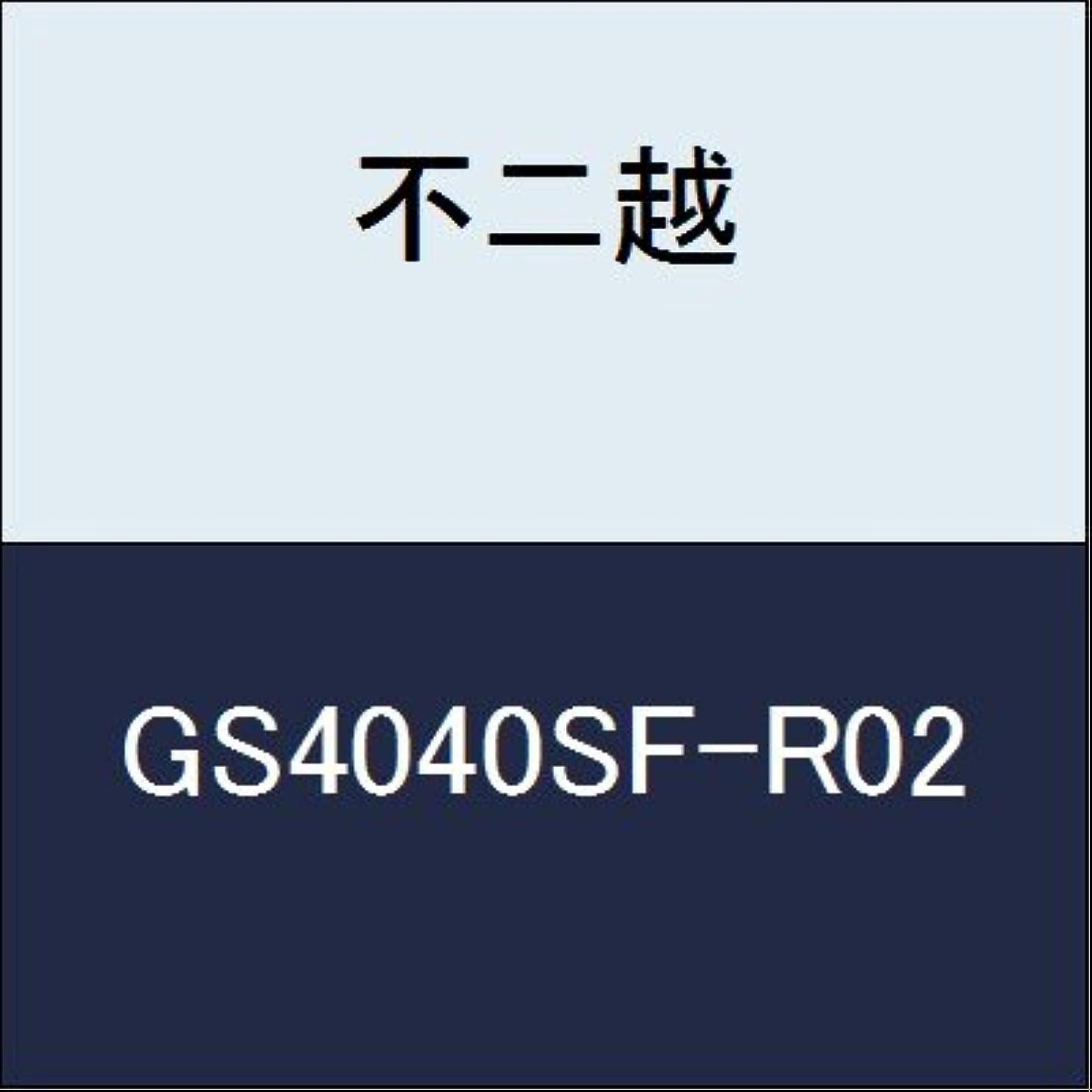 裏切りパリティ悩む不二越 切削工具 GSミルラジアス GS4040SF-R02