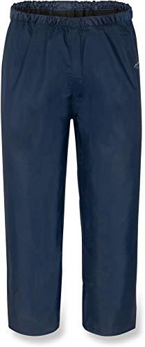 normani Kinder Regenhose Unisex für Jungen und Mädchen mit warmem, weichem Fleecefutter - Wassersäule 5000 mm Farbe Navy Größe S/122-128