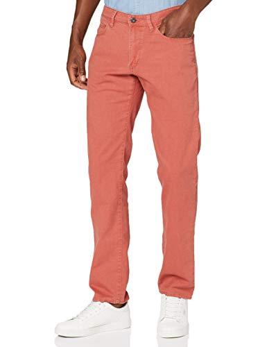Hattric Herren Hose Straight Jeans, Rot (Rot 53), W33/L32 (Herstellergröße: 33/32)