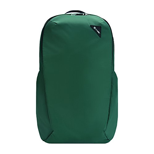 Pacsafe 60301502 Sac à dos en nylon et polyester pour ordinateur portable et netbooks avec poche latérale Vert 210 D 33 cm (13\