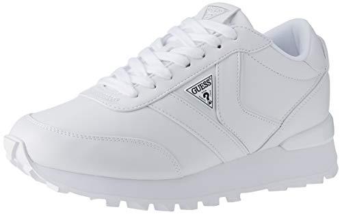 Guess SAMSIN3/ACTIVE Lady, Zapatillas Deportivas Mujer, Blanco, 39 EU