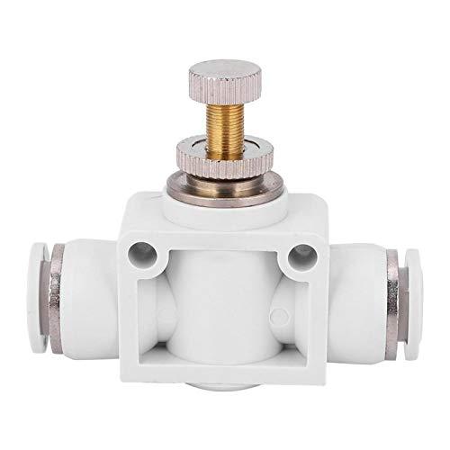 Tomantery Válvula de Control Conector de Acelerador a presión de Acoplamiento rápido de Buena eficiencia para tubería de Aire(4)