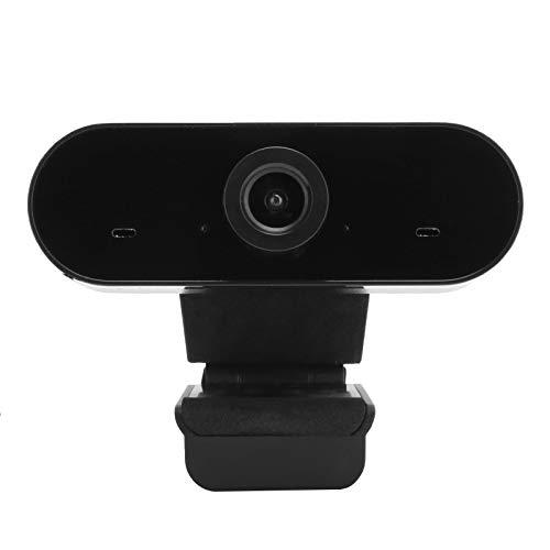 Cámara de Red 1080P, cámara de Red sin Controlador USB, cámara con micrófono, Base Multifuncional, para transmisión en Red de computadoras portátiles, Video Chat, enseñanza