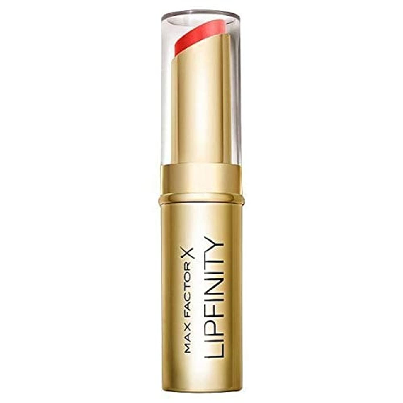 フラフープ急性手当[Max Factor ] 長い口紅だけの豪華持続マックスファクターLipfinity - Max Factor Lipfinity Long Lasting Lipstick Just Deluxe [並行輸入品]