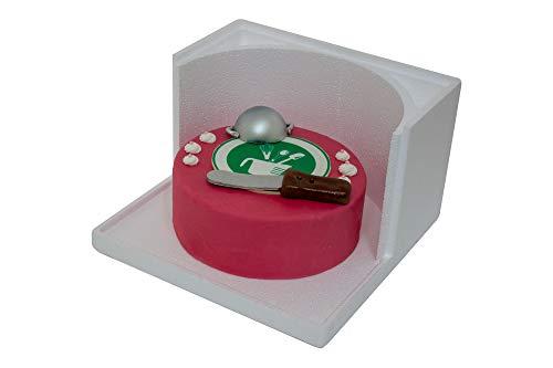Schneider Tortenbox weiß, EPS 27,5x27,5x18 cm