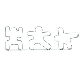 yoga cookies cutters