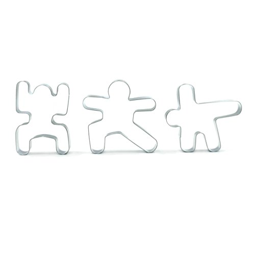 Yoga Pose Cookie Cutters Gift Set Om Nom Noms