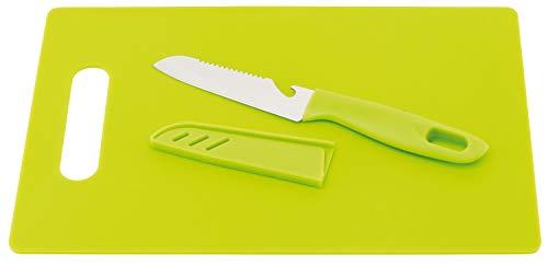 TOPICO 56-0307016 Sunny Planche à Découper Acier Inoxydable/Plastique