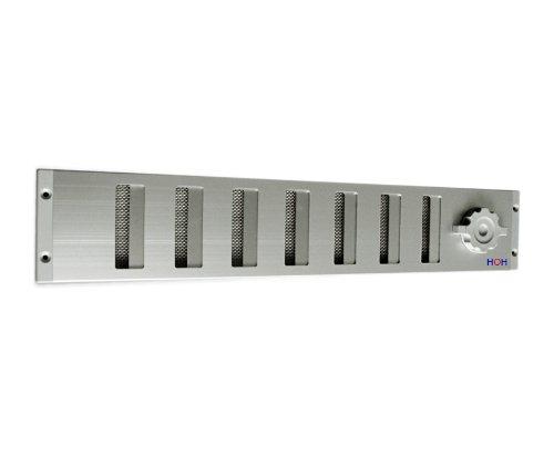Lüftungsgitter LG 5009 SAA Schiebegitter Alu 500 x 90 mm Abluftgitter