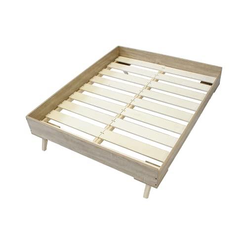 Midlee Raised Wooden Dog Bed Frame (Large)