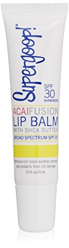 Supergoop! Fusion Lip Balm Acai SPF 30,0.5 Fl Oz