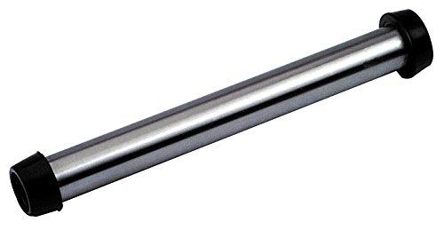 """Standrohr aus CNS 270mm lang mit 1 1/2"""" oder 1 1/4"""" Gummi"""