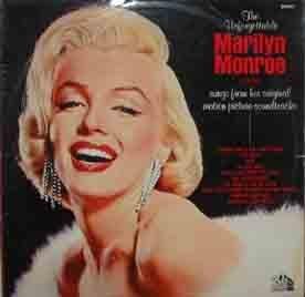 Antiguo vinilo - Old Vinyl .- The Unforgettable MARILYN MONROE sings songs...