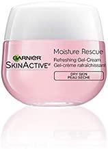 Garnier SkinActive Moisture Rescue Refreshing Gel-Cream for Dry Skin, 1.7 Ounces