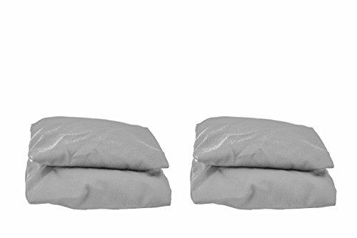 Gray Bean Bags (Set of 4)
