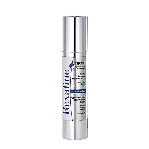 Rexaline - Hydra-Dose optimal feuchtigkeitsspendende Pflege - Anti-Faltencreme mit Hyaluronsäure - Anti-Aging Gesichtspflege - Tages- und Nachtcreme - für alle Hauttypen - Cruelty free - 50 ml
