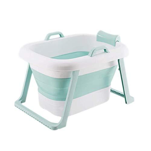 Badkuip voor volwassenen, draagbaar opklapbaar bad, kinderbad, huishoudelijk groot bad opvouwbare douchebak, comfortabel opvouwbaar volwassenenbad, 2 kleuren, 58 X 75 X 46cm B