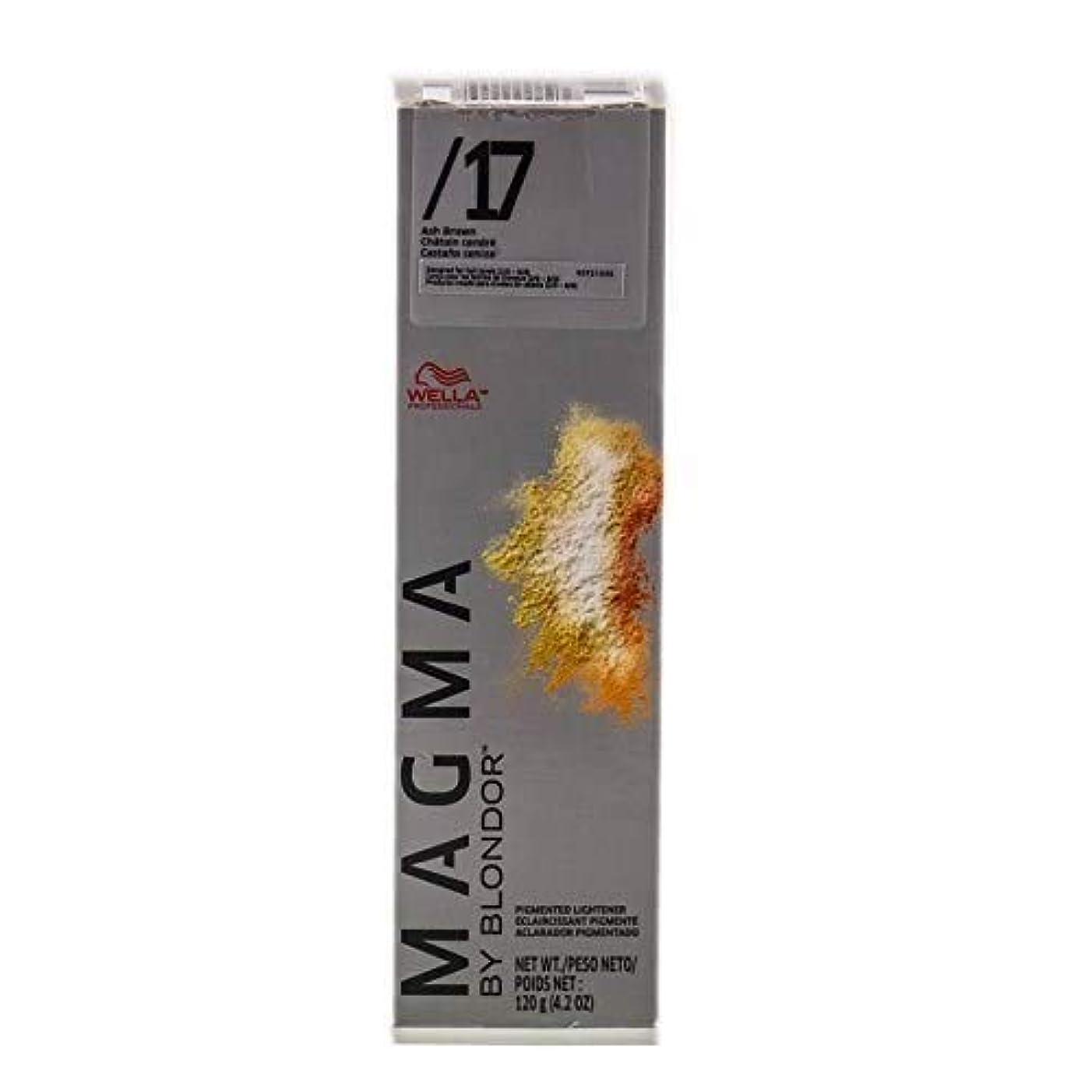 つかいますゲートアプトWella ユニセックスのためにマグマ着色ライトナー17アッシュブラウン、4.2オンス 4.2オンス