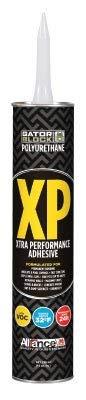 Gator Block Bond XP Polyurethane Adhesive, Low VOC 28 Ounce Tube (1-28 Ounce Tube)