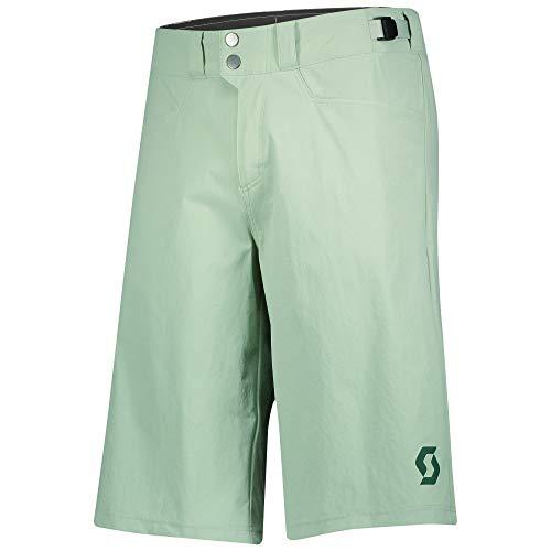 Scott Trail Flow - Pantaloncini da ciclismo corti (incl. pantaloni interni) Pistachio, taglia L (50/52), colore: Verde