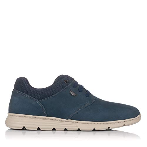 ON FOOT 3006 Zapato Sport Cordones Piel Hombre Marino 44