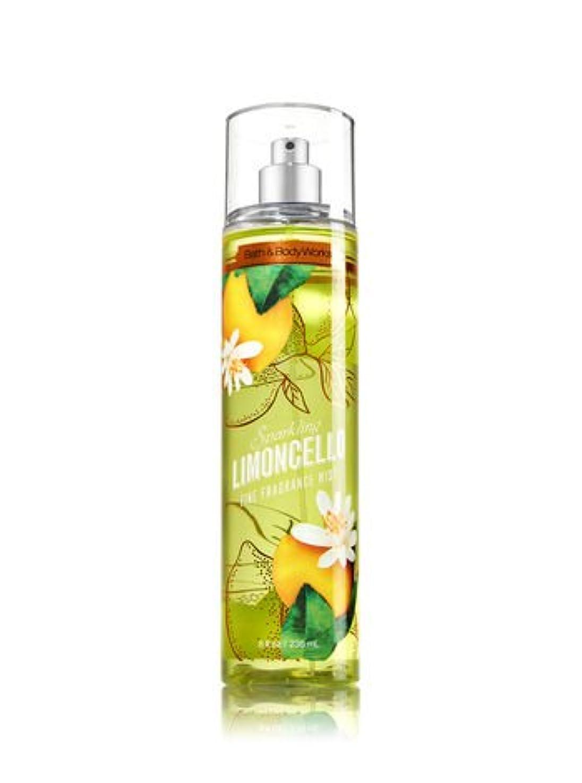 アスペクト母音ミッション【Bath&Body Works/バス&ボディワークス】 ファインフレグランスミスト スパークリングリモンチェッロ Fine Fragrance Mist Sparkling Limoncello 8oz (236ml) [並行輸入品]