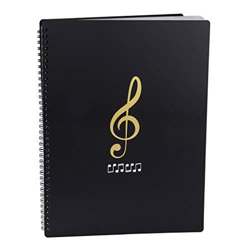 Tamaño A4 Documento de Nota Musical 30 Bolsillos Carpeta