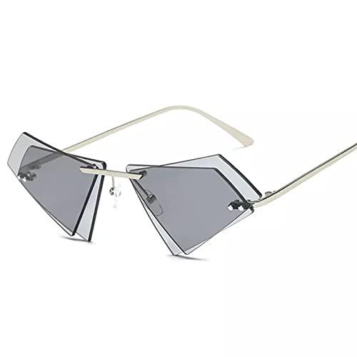 Gafas De Sol Cuadradas De Diseño A La Moda para Mujer, Montura Pequeña, Gafas De Sol Vintage, Sin Montura, Gafas De Conducción para Hombre, Gafas De Sol