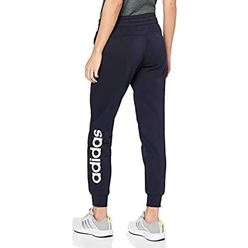 adidas W E Lin Pant Pantalones de Deporte, Mujer, Legend Ink White, 2XS
