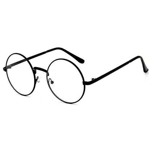 CHENG/ CHENG Sonnebrille Frauen Brillen Runde Legierung Rahmen Brillen Retro Klar Optische Brillenfassungen Für Männer Weibliche
